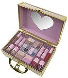 Markwins Maletín De Maquillaje Sweetheart Train Case - The Color Workshop - Un Kit De Maquillaje Profesional Completo En Un Maletín Fashion Para Llevar Siempre Contigo 840 g