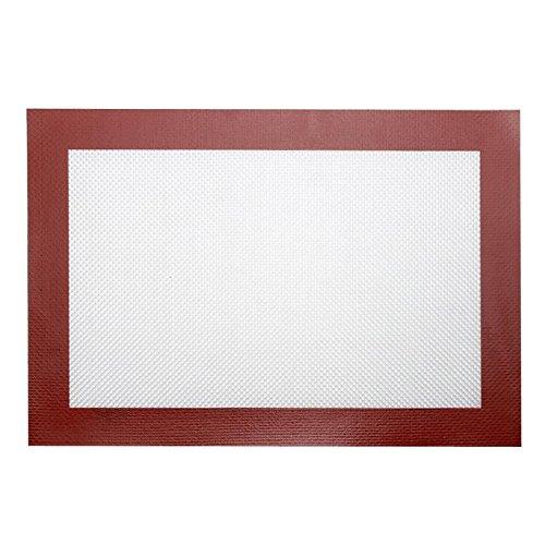Tapis isolant en silicone antidérapant pour four à micro-ondes, tapis de réfrigérateur, tapis de cuisson, tapis de pétrissage, etc.