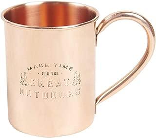 united by blue copper mug