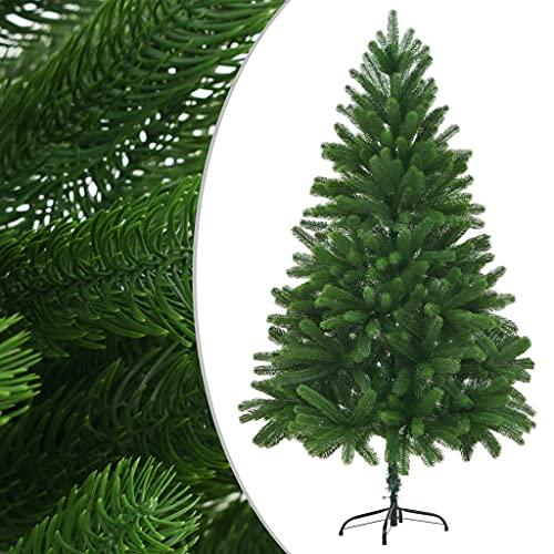 vidaXL Künstlicher Weihnachtsbaum Naturgetreue Nadeln 210cm Grün Tannenbaum