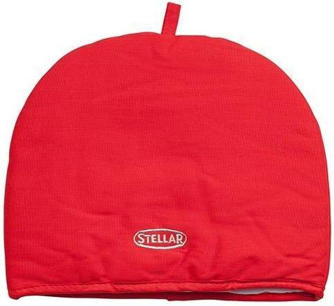 Stellar Thermal Padded Tea Cosy Cozie Cozy in Red STE10R
