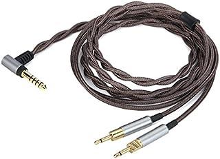 Yodonami 交換ヘッドホンケーブル HD700 ヘッドフォン NW-ZX300A ウォークマンに対応 アップグレードケーブル 4.4mmバランスコネクタ