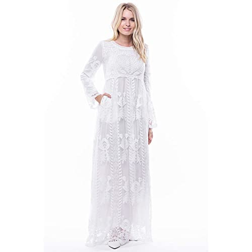 586e7d94c50 ModWhite Poppy White Temple Dress