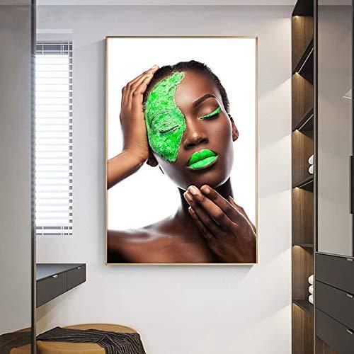 wtnhz DIY-Pittura Digitale/Donna di Arte Africana/Libri di Pittura Digitale/Pittura a Mano Pura(Senza Telaio