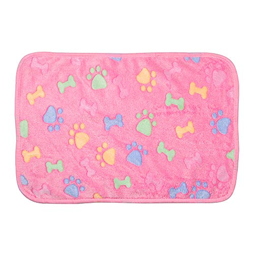 NANANANA Hundebett-Matten Haustier-Decke, Heim-Teppich, hält warm, Schlaf-Abdeckung, Haustier-Zubehör für Welpen, Hund, Katze, Sofakissen