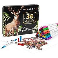 36-Count Hethrone Dual Brush Pen Art Color Markers