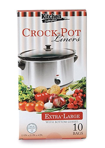 Party Bargains Multi-Use Cooking Bags Slow Cooker – Crock Pot Liners, Extra Large, 10 Count (3 PACK)