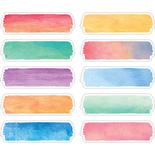 Teacher Created Resources Watercolor Labels (TCR20873)