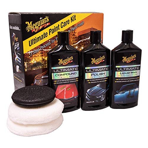 Meguiars ULTPCKITEU Ultimate Paint Care Kit Autoaufbereitungsset
