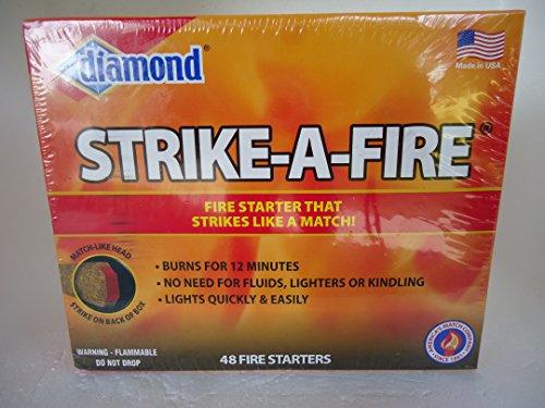Frost Cutlery Company AKRO MILS INC 48CT Strike Fire Stick