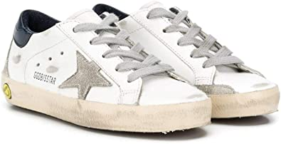 Golden Goose Luxury Fashion Ragazzo GJF00102F00041410303 Bianco Pelle Sneakers   Ss21