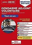 Gendarme adjoint volontaire - GAV APJA et GAV EP - Catégorie C - Tout-en-un - 20 tutos offerts - Épreuves de sélection 2021-2022 (2021)
