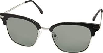 Urban Classics Sunglasses Crete Gafas, Negro/Verde, Talla única Unisex Adulto