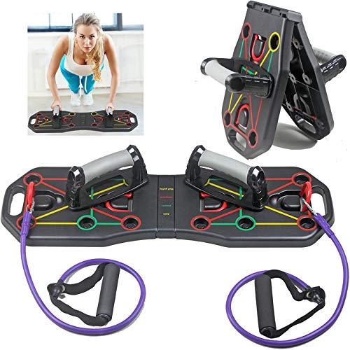 N/N Rack Palestra, Combinazioni Multiple di Funzioni, Attrezzature Sportive Indoor Pieghevoli, Hanno Rapidamente Muscoli Addominali Perfetti