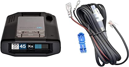 $469 » Escort IXC Laser Radar Detector - Extended Range, WiFi Connected Car Compatible & Direct Wire Power Cord for Radar and Las...