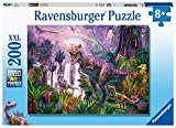 Ravensburger 12892 King of The Dinosaurs 200 Piece Puzzle for Kids - Every Piece is Unique, Pieces Fit Together Perfectly