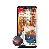 atFolix Schutzfolie kompatibel mit Allview Soul X5 Pro Folie, entspiegelnde & Flexible FX Bildschirmschutzfolie (3X)