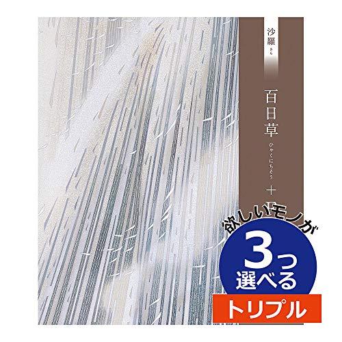 大和 沙羅フード 百日草 3つもらえる トリプルチョイス カタログギフト SAR03012
