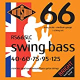 Rotosound RS665LC Swing Bass 66 Stainless Steel 5 String Bass Guitar Strings (40-125)