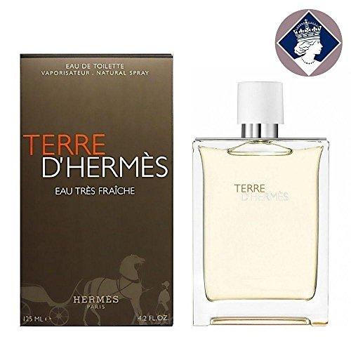Terre D'hermes Eau Tres Fraiche 125ml/4.2oz Eau De Toilette Men Cologne Spray