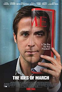 Ides Of March Movie Poster Double Sided Original 27x40