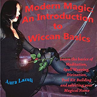 Modern Magic: An Introduction to Wiccan Basics audiobook cover art