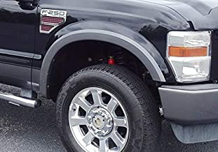 Autorestylers Smooth Black Fender Flares Fit 2008-2010 F250 /& F350
