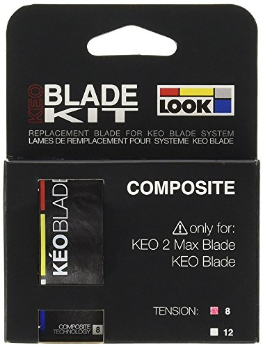 LOOK 2 Max, Kit Lame Keo Blade Unisex-Adulto, Nero 8 Newton