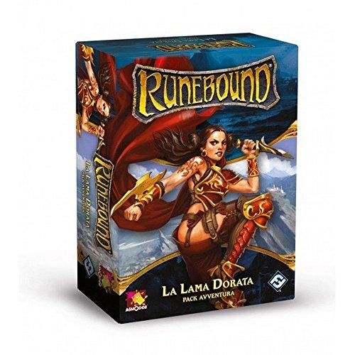 Asmodee Italia - Runebound expansión la Hoja Dorada Juego de Mesa con...