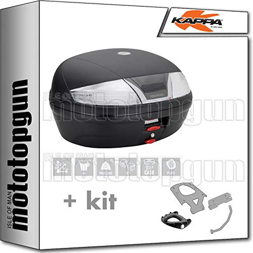 kappa maleta k46nt 46 lt + portaequipaje monolock compatible con bmw f...