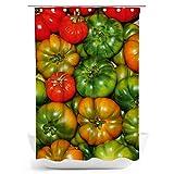 fotobar!style Duschvorhang 140 x 200 cm Tomaten