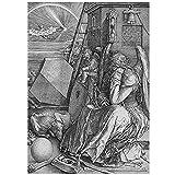 FGVB Albrecht Dürer: Melancholia.Leinwand Poster Bild