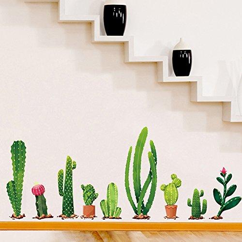 Bodhi2000 - Pegatinas de pared extraíbles para decoración del hogar, decoración para sala de estar, dormitorio, sofá, fondo de TV