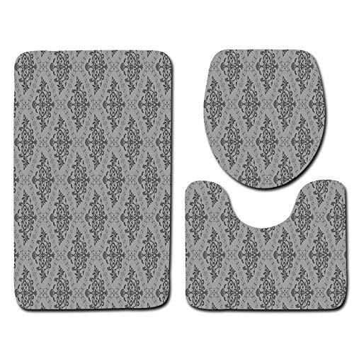 Handaxian Europäischen Stil Toilette dreiteilige Bodenmatte Badezimmer-Set von 3 Ebay Teppich Türmatte