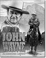 Wayne American Legend ブリキ 看板 輸入品 32cm×40cm ビンテージ風