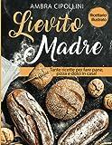 lievito madre: tante ricette per fare pane, pizza e dolci in casa! ricettario illustrato!