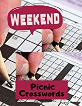 Weekend Picnic Crosswords: Crossword Puzzle Books For Adults In Bulk - Hours of brain-boosting entertainment for adults and kids, The Supreme Word Search Book for Adults