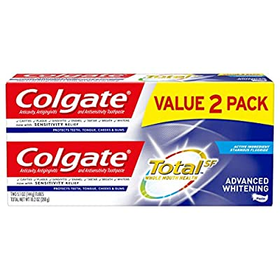 Colgate Total Whitening Toothpaste,