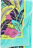 Gorgeous Vera Bradley Beach Towel in Palm Feathers
