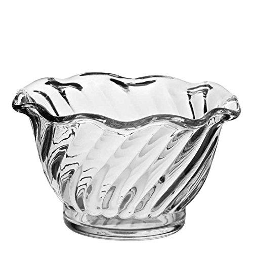 Carlisle 453007 Mini Plastic Dessert Tasting Cup, 5 oz, Clear (Pack of 24)