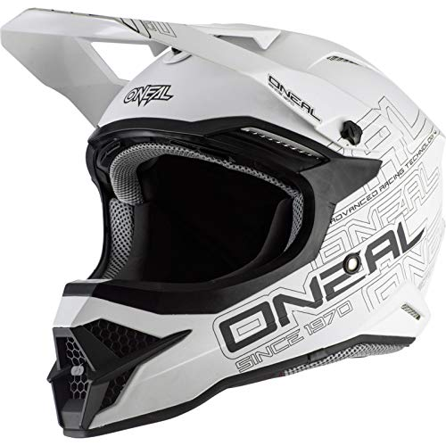 O'Neal 3SRS Adult Helmet Flat (Flat White, XXL)