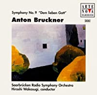 Anton Bruckner - Symphony No. 9 Audio CD Import by Bruckner