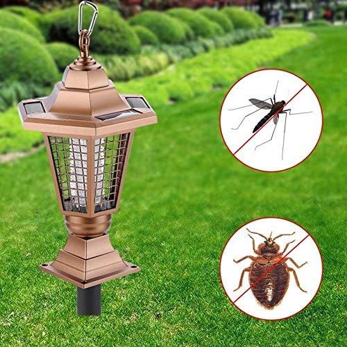 YFDD Insecticida electrónicos domésticos Solar al Aire Libre del Asesino del Mosquito...