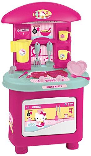 Cocinita de Hello Kitty para niñas color rosa