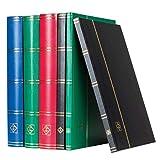 Leuchtturm 339367 Clasificador DIN A5, 32 páginas Negras, Tapa no Acolchada, Negro