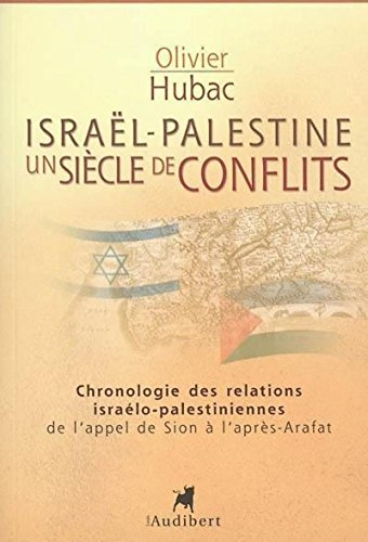 Israël-Palestine Un siècle de conflit