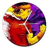 Rafa Nadal ATP Reloj de Pared Wall Clock 20cm