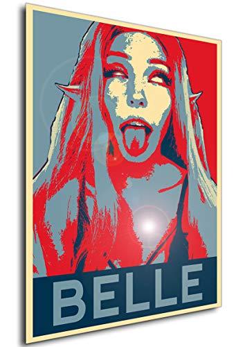 Instabuy Poster - Propaganda - Belle Delphine Ahegao Manifesto 70x50