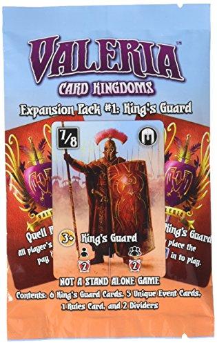 Valeria: Card Kingdoms - Expansion Pack #01: King's Guard - English