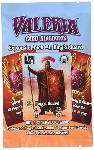 Valeria: Card Kingdoms - Expansion Pack #01: King's Guard - English